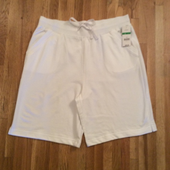 Kim Rogers Pants - Kim Rogers cotton shorts in White.